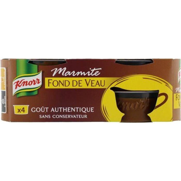 KNORR Marmite Fond De Veau 112 g