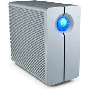 LACIE - 2 Baies de disques QUADRA - 8 To - USB3.0 - 7200rpm