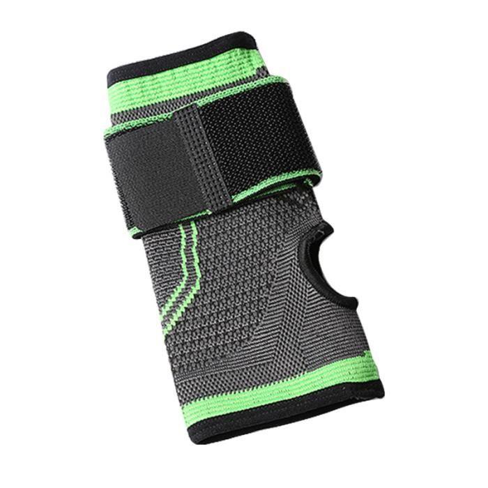 1PC de protection élastique respirant Premium attelle de poignet de paume de soutien gants de gymnastique pour pull up
