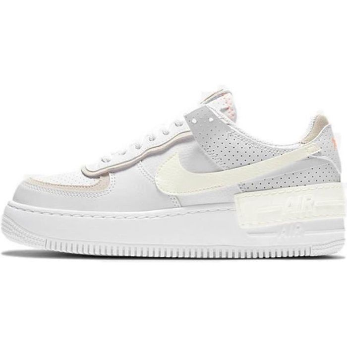 Basket Air Force 1 Shadow Air Force One AF 1 Low Chaussures de Running Femme CZ8107-1100