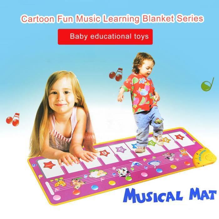 110x36 Tapis Pédale de piano Couverture de Danse Tapis de jeu