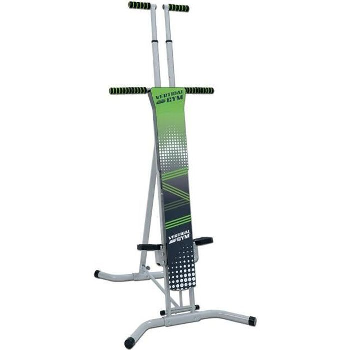GYMFORM Appareil de Fitness Vertical Gym Adulte + 1 DVD d'entrainement + 1 plan d'exercices + 1 guide nutritionnel