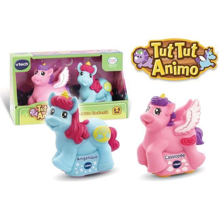 VTECH - TUT TUT ANIMO - Coffret Duo Enchanté (2 Licornes : magique et ailée)