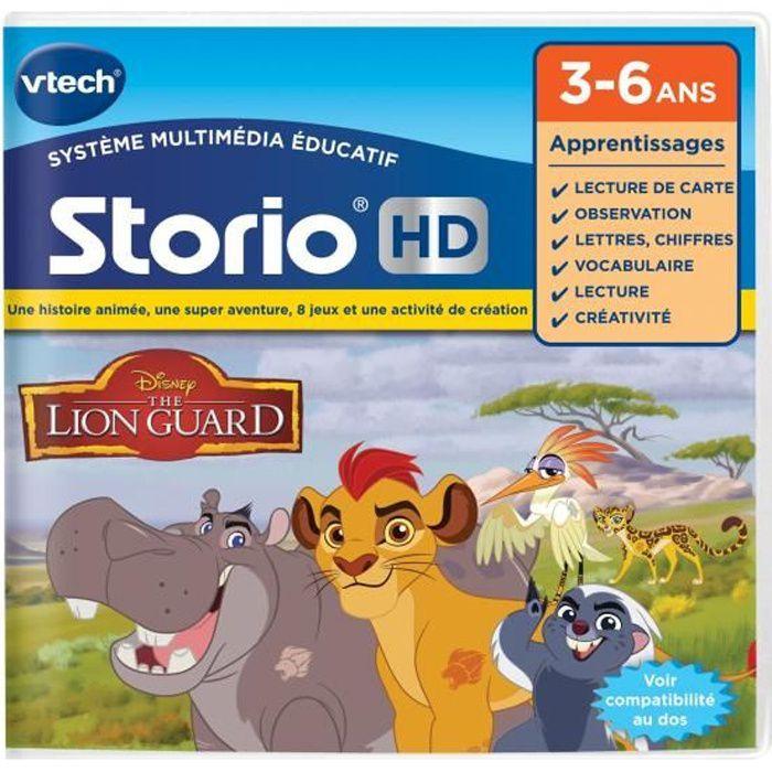 VTECH - Jeu Éducatif Storio - La Garde Du Roi Lion