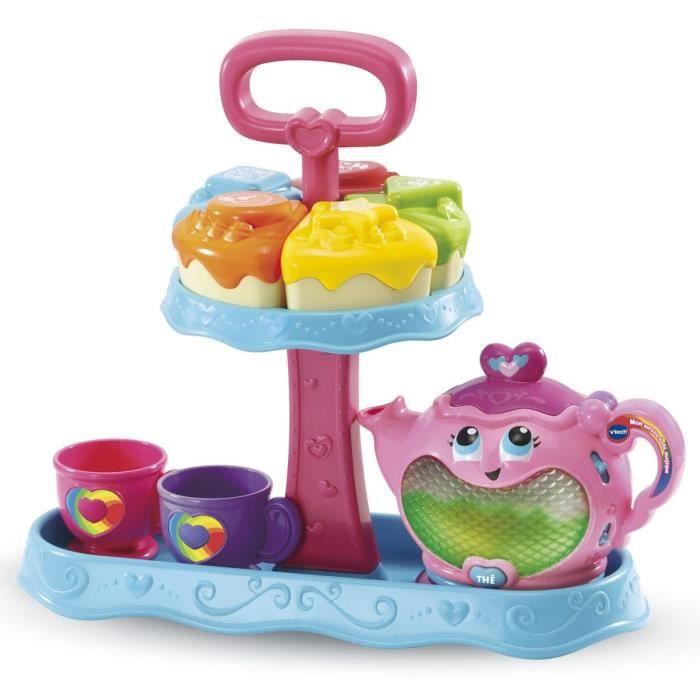 VTECH - Jouet d'Imitation Enfant - Mon service à thé magique