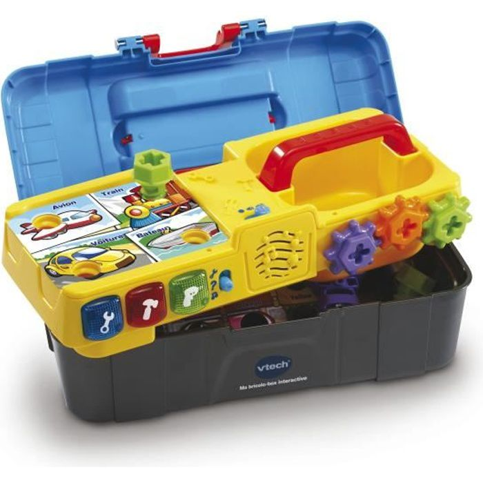 VTECH - Jouet d'Imitation Enfant - Ma Bricolo-Box Interactive