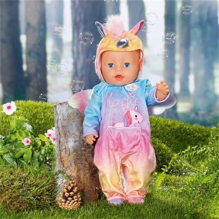 BABY Born Combinaison Licorne pour poupée de 43cm