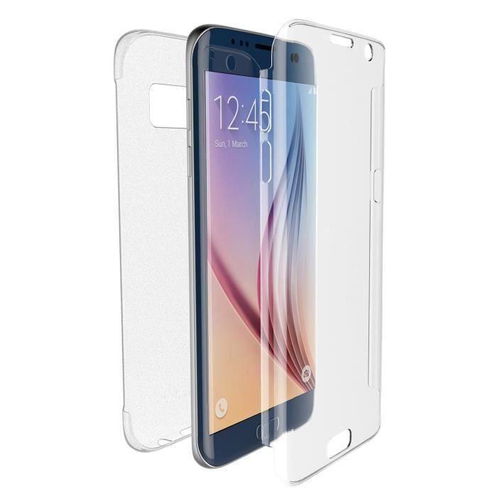 Samsung Galaxy S7 Edge, Coque Silicone Transparent