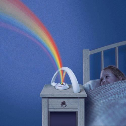 veilleuse arc en ciel pour enfant bebe led luminaire d. Black Bedroom Furniture Sets. Home Design Ideas