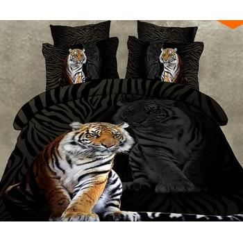 parure 3d 2 personnes tigre et son reflet achat vente. Black Bedroom Furniture Sets. Home Design Ideas