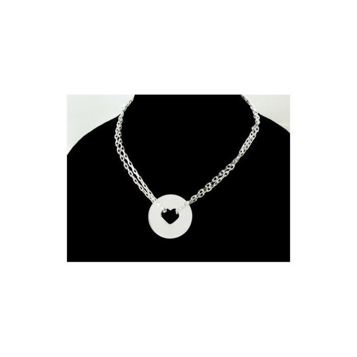 Acier Inoxydable Vide placage or Agate Calcédoine pendentif ours Bracelet 01
