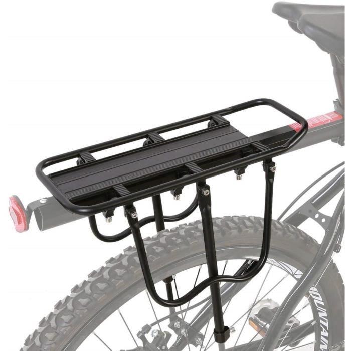 PORTE-BAGAGES VÉLO Porte-bagages arrière vélo Porte-siège de VTT 50kg