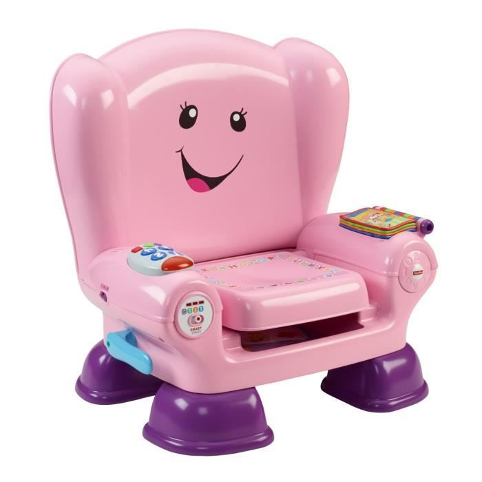 Fisher price chaise eveil progressif rose achat vente table jouet d 39 activit cdiscount for Chaise 4 en 1 fisher price