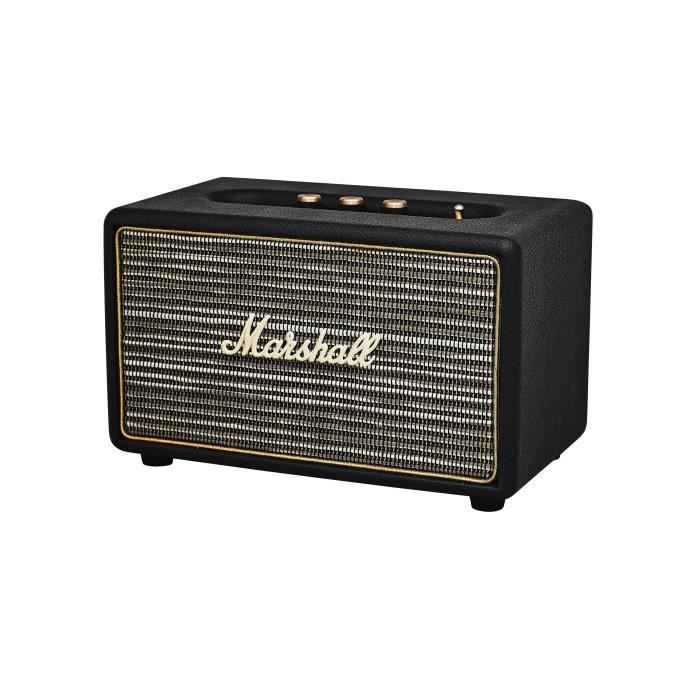 marshall acton noir enceintes bluetooth avis et prix. Black Bedroom Furniture Sets. Home Design Ideas