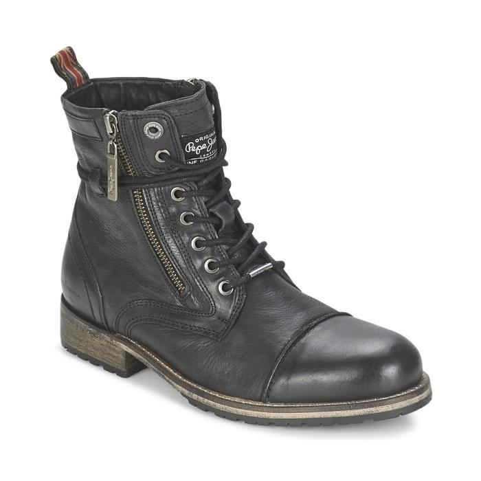 Bottines Melting noires