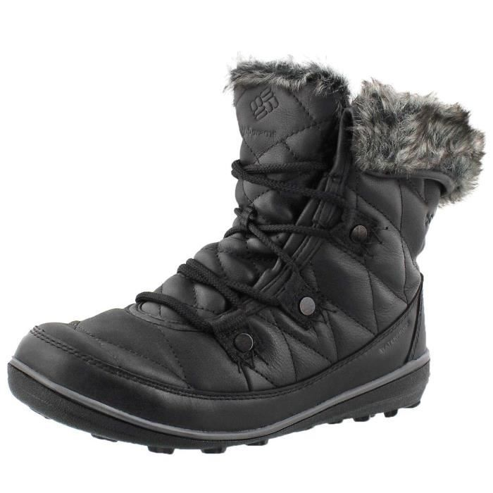 Columbia Heavenly Shorty Omni-heat Leather After Dark Snow Boot FBSJU Taille-38