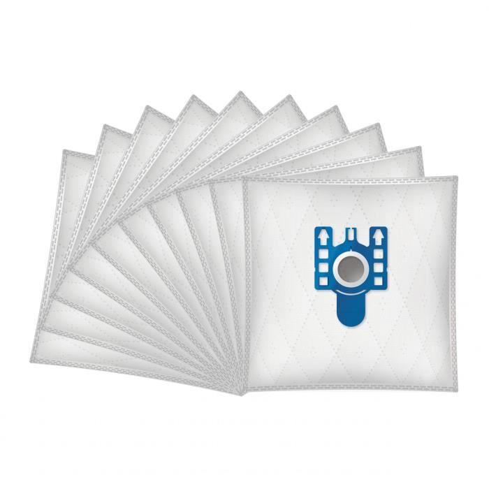 Filtre HEPA Pour Miele C3 complet pour aspirateur 10 x 3D Type GN Sacs assainisseurs d/'