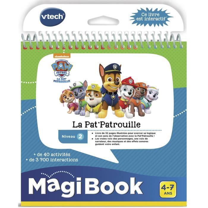 LIVRE INTERACTIF ENFANT VTECH - Livre Interactif Magibook - Pars en Missio