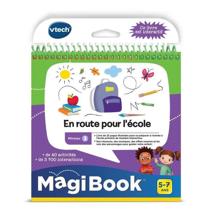 CONSOLE ÉDUCATIVE VTECH - Livre Interactif Magibook - En Route Pour