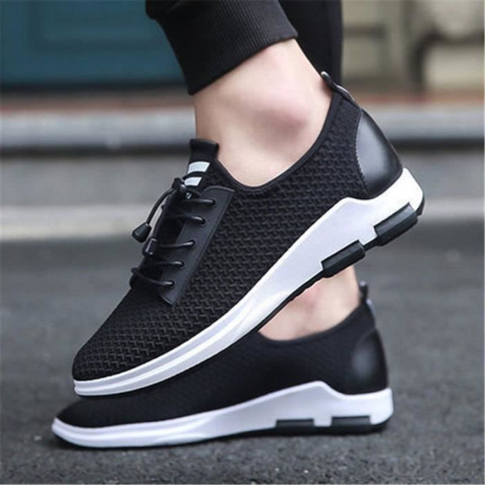 Homme Chaussures de Course Sport Chaussures Homme Sneakers Homme Marche Jogging chaussure Homme Taille 39-44 w