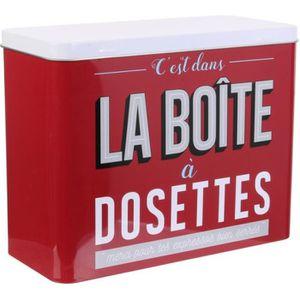 Boite A Dosette Senseo Boite A The Weis Achat Vente Boites De Conservation Boite A Dosette Senseo Boit Cdiscount