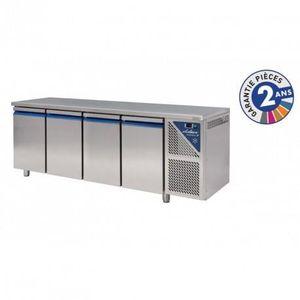 ARMOIRE RÉFRIGÉRÉE Table réfrigérée positive 630 L - 4 portes avec gr