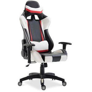 SIÈGE GAMING Chaise de bureau Racing Gaming Jaune