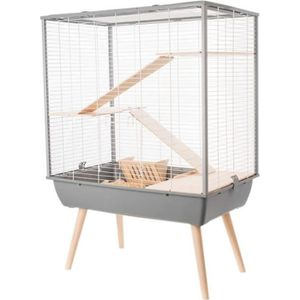 CAGE Cage Neo Cosy Grands Rongeurs Gris