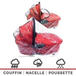 HABILLAGE PLUIE  Habillage Pluie Universel Pour Couffins Nacelles (