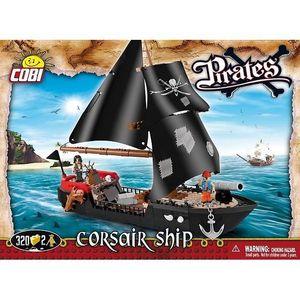 ASSEMBLAGE CONSTRUCTION Pirates - Bateau de Corsaires - 320 pièces, 2 figu