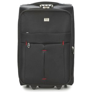 VALISE - BAGAGE Valise cabine extensible DAVID JONES BA-5028 Noir