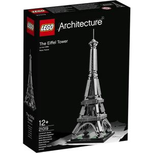 ASSEMBLAGE CONSTRUCTION LEGO® Architecture 21019 La Tour Eiffel