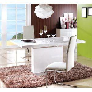 TABLE À MANGER SEULE Miliboo - Table à manger extensible design laquée