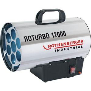 RADIATEUR D'APPOINT ROTHENBERGER Générateur d'air chaud - Roturbo 1200