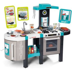 DINETTE - CUISINE SMOBY Tefal Cuisine French Touch + 46 Accessoires