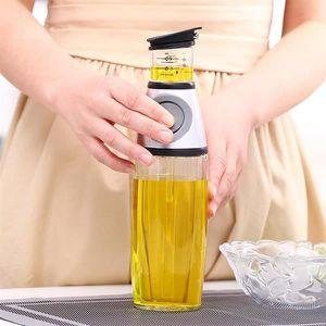 BEURRIER - HUILIER  Distributeur en verre de vinaigre d'huile d'olive