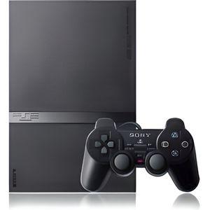 CONSOLE PS1 Console PS2 SLIM Noire + carte mémoire