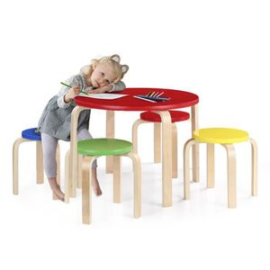 table ronde enfant achat vente table ronde enfant pas. Black Bedroom Furniture Sets. Home Design Ideas