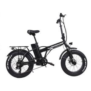 SELLE - TIGE DE SELLE Vélo électrique Velobecane Snow noir