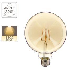 AMPOULE - LED Ampoule LED globe / vintage, culot E27, 4W cons. (