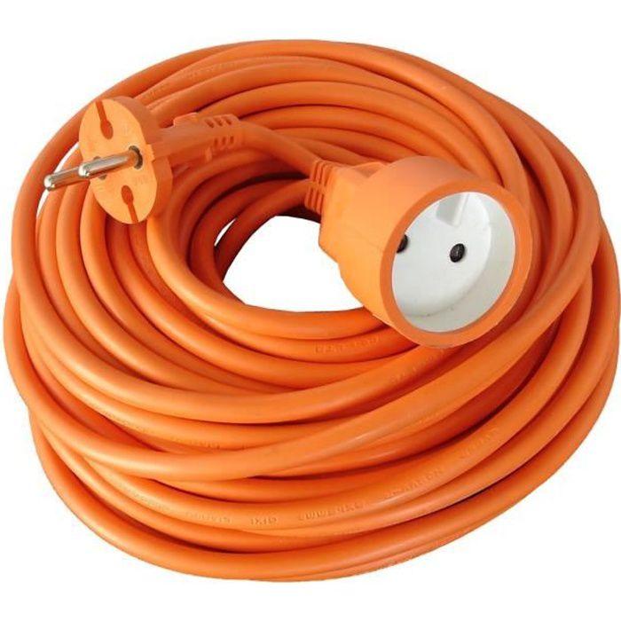 RALLONGE Rallonge électrique de jardin câble HO5VVF 2X1.5mm