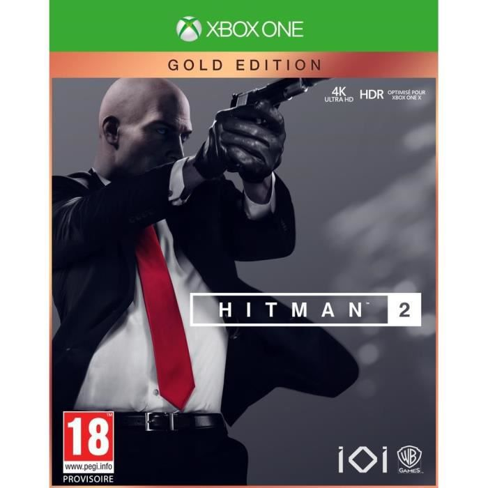 JEU XBOX ONE Hitman 2 Gold Edition Jeu Xbox One