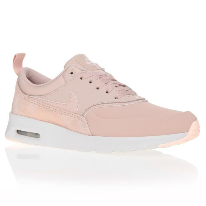 NIKE Baskets Air Max Thea Prem - Femme - Rose