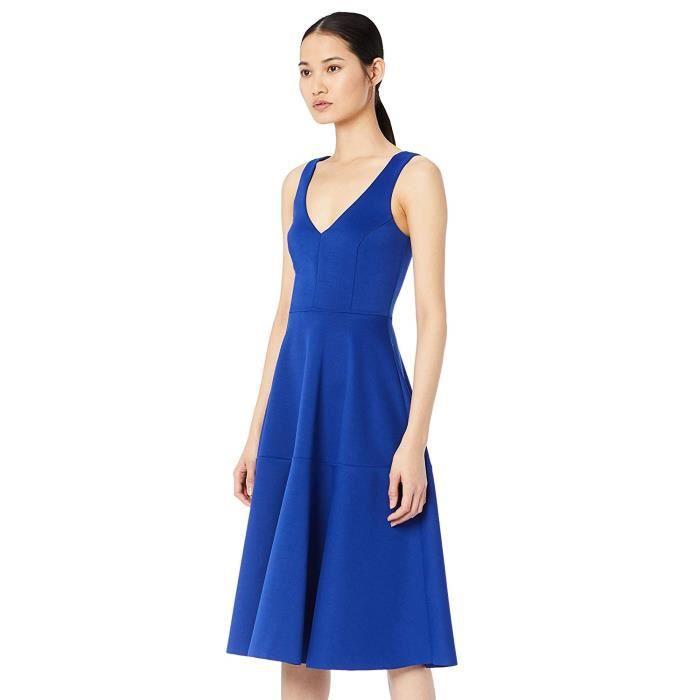 TRUTH & FABLE DR300646 robes de cérémonie, Bleu (Blue), 40 (Taille Fabricant: Medium) - DR300646-Blue