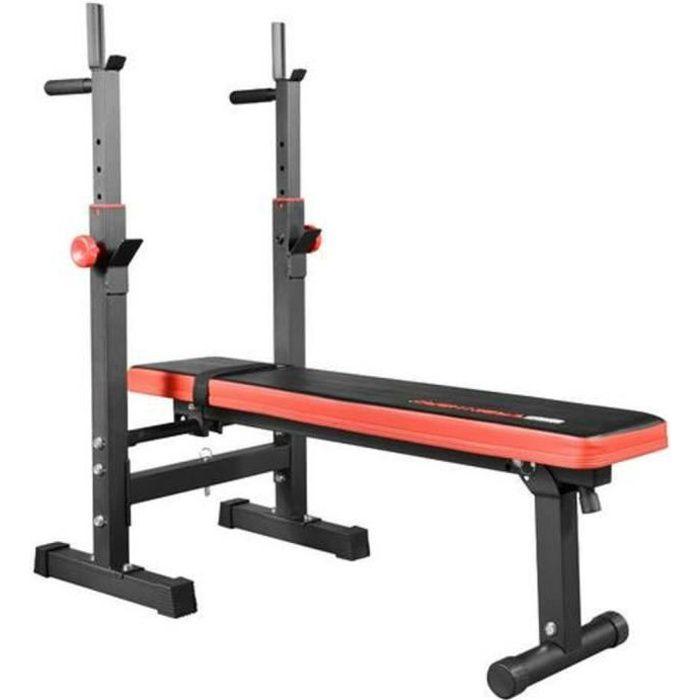 YIDS Banc de Musculation Pliable Hauteur Réglable, Charge Max. 200kg - Pliable Appareil sports à la maison maigrir pour homme