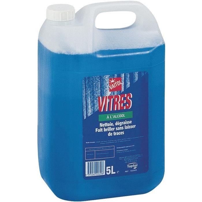 Nettoyant vitre à alcool Vaitol 5L