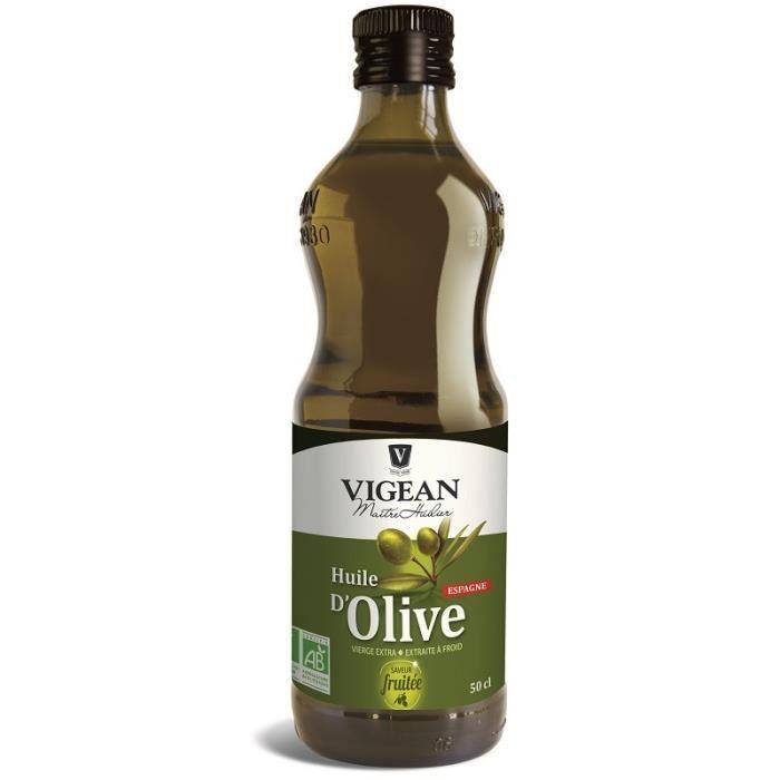 VIGEAN - HUILE D'OLIVE FRUITEE ESPAGNE 50CL