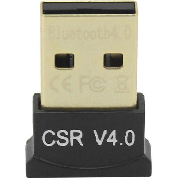 Clé Usb Adaptateur Bluetooth V4.0 2.1 + Edr Key Sans Fil Dongle Pour Pc Portable