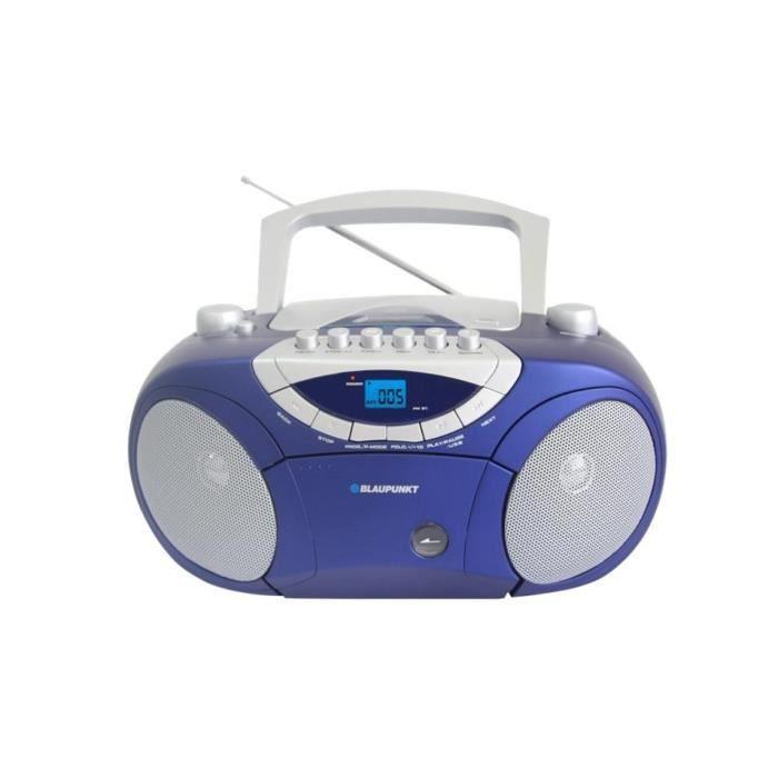 BOOMBOX BLAUPUNKT BB15BL, AM-FM, CASSETTE, CD /…