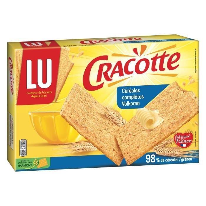 Cracotte céréales complètes 250g Cracotte